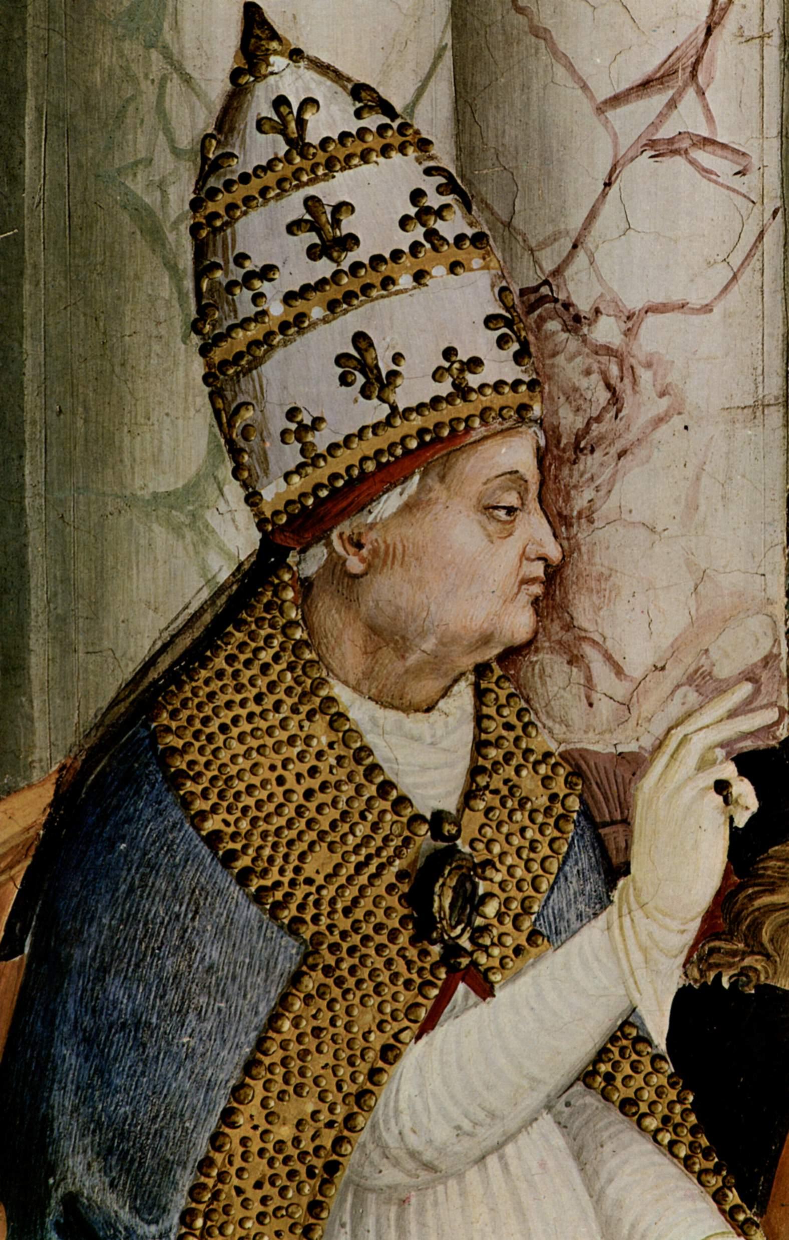 Papież Pius II. On też święcie wierzył w obrzydliwe plotki na temat Jadwigi.