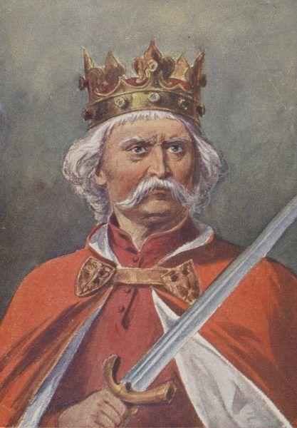 Król Łokietek według Walerego Radzikowskiego.