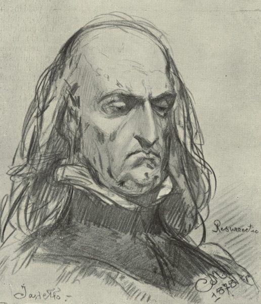 Władysław Jagiełło na niepublikowanym szkicu Jana Matejki.