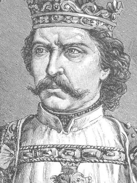 Władysław Łokietek na portrecie ks. Pillatiego.