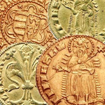 Złoto Węgier. Floreny z XIV i XV stulecia.