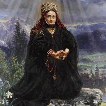 Święta Kinga na obrazie Jana Matejki