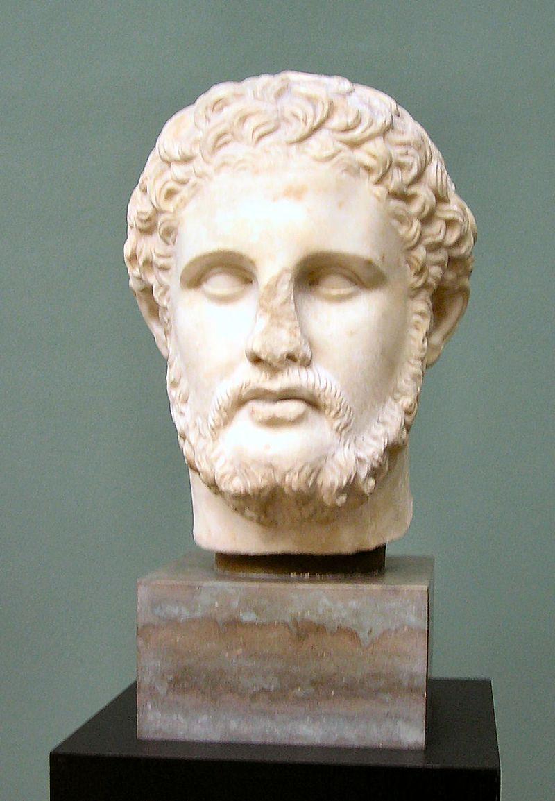 Filip II pochodził z dynastii Argeadów. Nie tylko zreformował macedońską armię, ale i dzięki sukcesom wojennym znacznie powiększył terytorium państwa. Spuściznę po nim przejął jego syn, Aleksander Wielki.