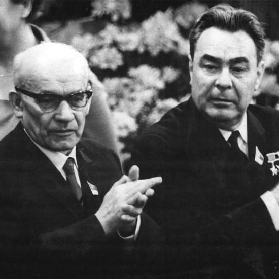 Władysław Gomułka i Leonid Breżniew