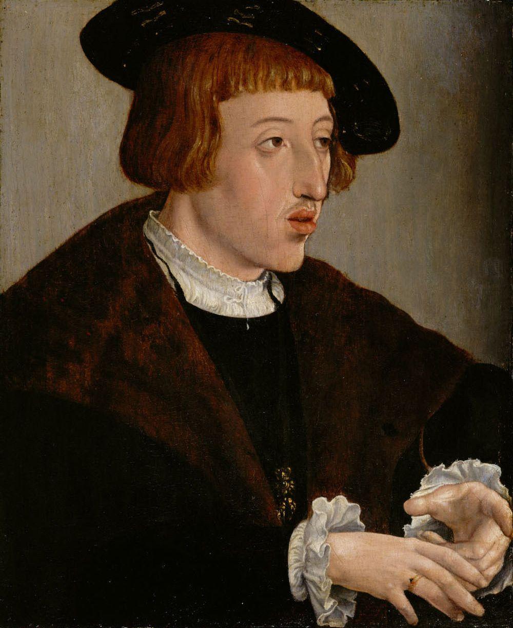 Ferdynand Habsburg do najprzystojniejszych książąt nie należał. Był za to niezwykle skuteczny. A najtrudniejszą przeprawę miał z Węgrami. Portret pędzla Jana Cornelisza Vermeyena z 1530 roku.