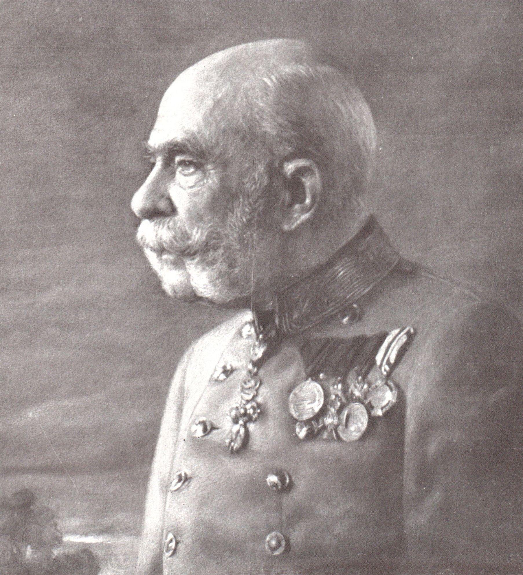 Jedno z ostatnich zdjęć cesarza (i niedoszłego króla Polski?) Franciszka Józefa I, autorstwa Carla Pietznera.