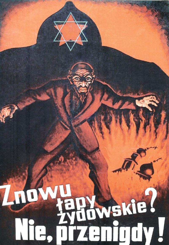 Czy Stalin był antysemitą? To pytanie nasuwa się samo, skoro jednym z argumentów czystki polskich komunistów było żydowskie pochodzenie większości członków KPP. Na ilustracji plakat propagandowy w języku polskim z lat 20-tych.