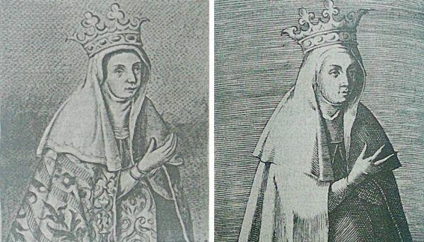 Niezbyt atrakcyjne wyobrażenia Jadwigi Andegaweńskiej z 1591 i 1594 roku