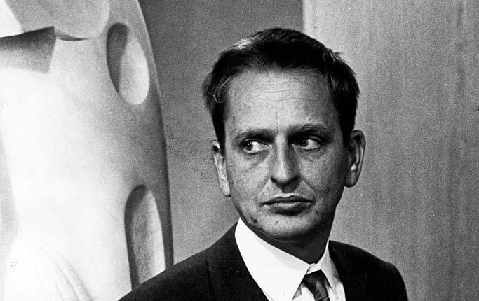 Domniemany zamach na Samanthę Smith w jednym z dokumentów CIA postawiano w jednym rzędzie z morderstwem byłego premiera Szwecji Olofa Palme (widocznego na zdjęciu z 1968 roku).
