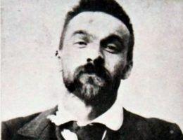 Józef Piłsudski po aresztowaniu przez Ochranę w 1900 roku.