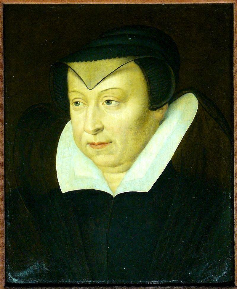 Katarzyna Medycejska miała niezrównaną polityczną intuicję. W przpadku zamiłowania do bielideł instynkt ewidentnie ją zawiódł. (fot domena publiczna).