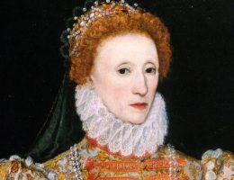 Królowa Elżbieta I była miłośniczką białego pudru. (fot. domena publiczna)
