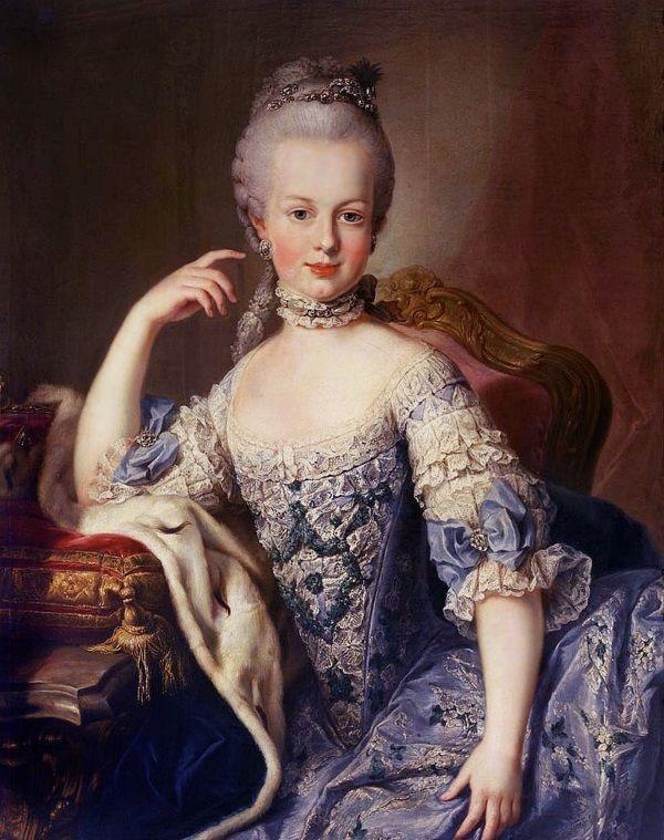 Maria Antonina Austriaczka. Uroda niestety jej nie pomogła i ostatecznie skończyła na gilotynie. (fot. domena publiczna).