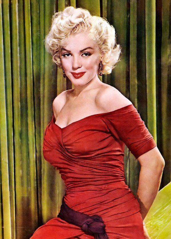 Choć Marilyn Monroe wzbudzała całe morze kontrowersji, na tej liście nie mogło jej zabraknąć. (fot. domena publiczna)