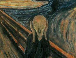 Nie tyle o zdziwienie, co niekiedy o prawdziwy krzyk rozpaczy proszą się niektóre z wpisów... Na ilustracji słynny obraz Edwarda Muncha.