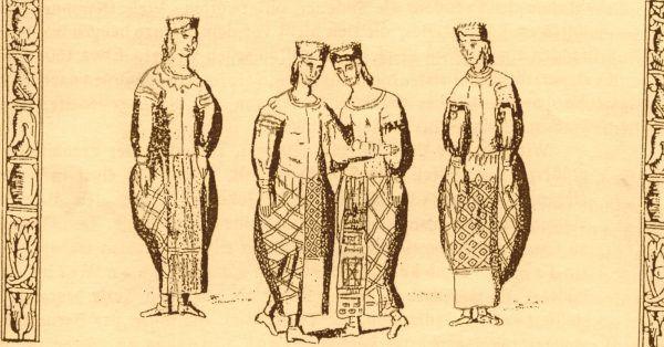 Los pruskich kobiet był nie do pozazdroszczenia, nawet jeśli wziąć pod uwagę wyłącznie fakty, a odrzucając plotki. Na ilustracji rycina przedstawiająca tańczące Prusinki.