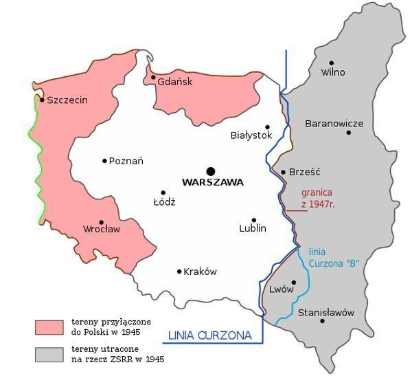 Powojenne granice Polski znacząco się zmieniły. Czy gdyby Polska miała większe wsparcie USA, mogłaby zachować Kresy?