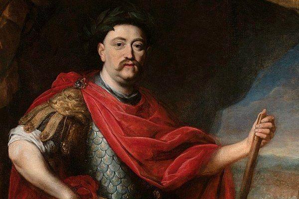 Portret Jana III Sobieskiego w stroju rzymskim autorstwa Daniela Schultza
