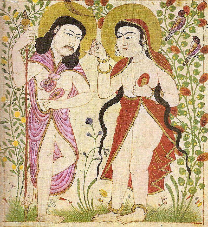 Tradycja islamska zupełnie inaczej niż chrześcijańska przedstawia pierwszych rodziców. Sugeruje nawet, że powodem ich grzechu mógł być nie owoc, a wino.