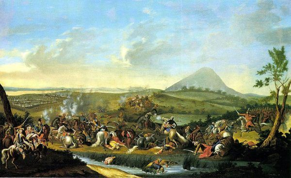 Pod Mohaczem w 1687 roku młody James dowodził już pułkiem kirasjerów.