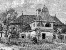 Dwór ziemiański w Smardzewie (fot domena publiczna).