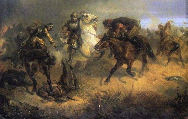 Potyczka z Tatarami pędzla Maksymiliana Gierymskiego
