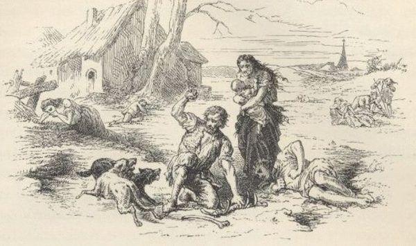 Ciągłe wojny oraz rozrzutność Ludwika XVI sprawiły, że ponad milion Francuzów głodowało.