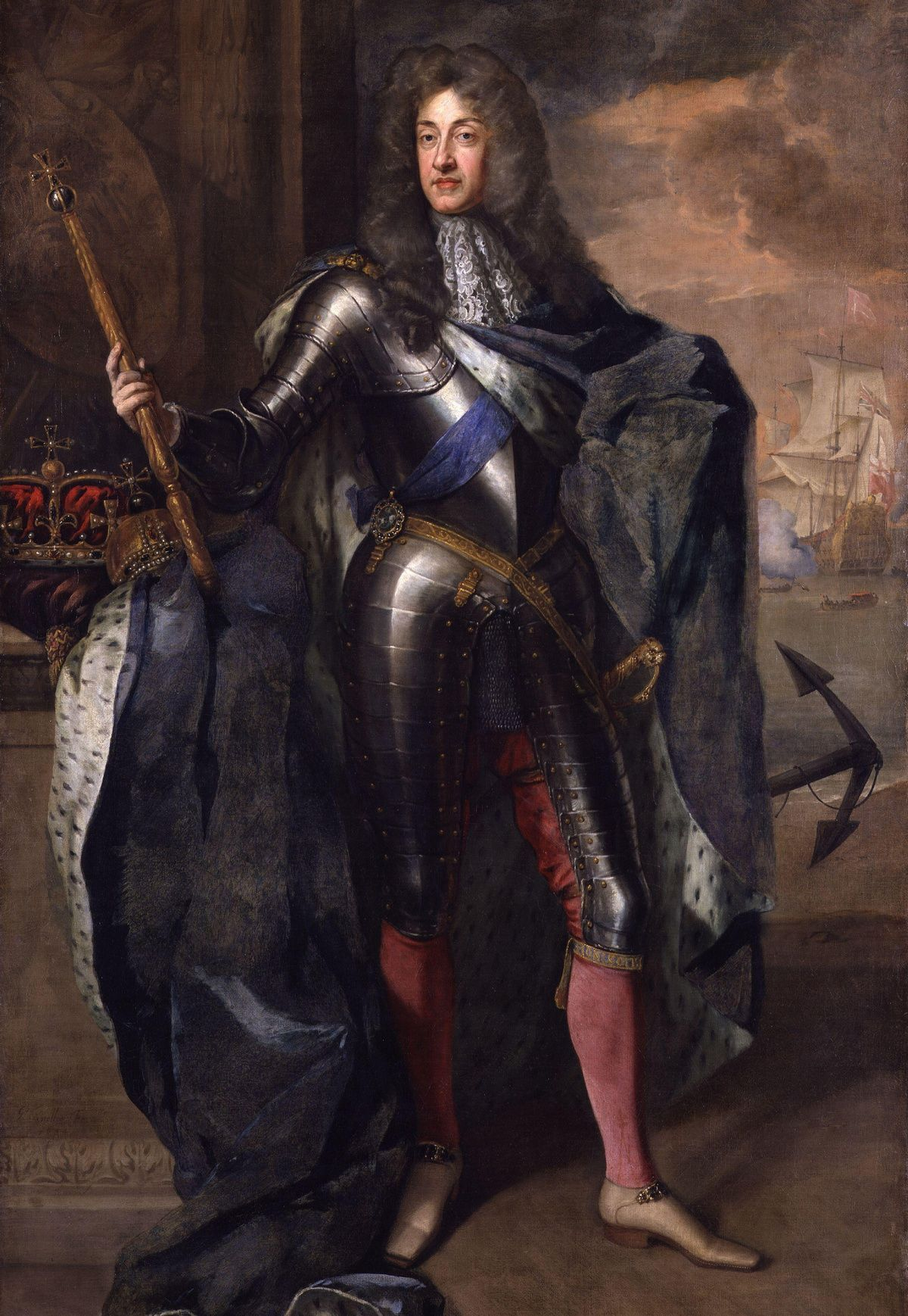 James wiernie stał u boku ojca, zdetronizowanego króla Jakuba II Stuarta, starając się zapewnić mu powrót na tron.