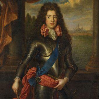 James FitzJames na portrecie pędzla Pierre'a Mignarda.