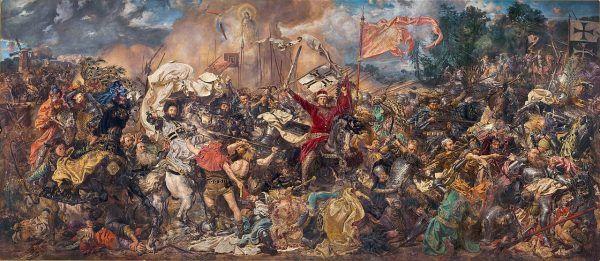 Bitwa pod Grunwaldem autorstwa Jana Matejki