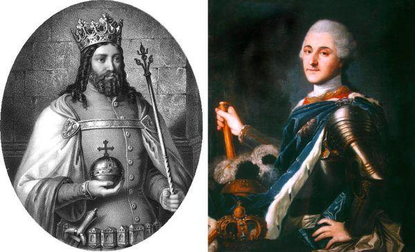 Przydomki i oficjalna historia pozwalają zestawić Kazimierza Wielkiego i Stanisława Augusta Poniatowskiego na zasadzie przeciwieństw. Ale czy na pewno? Nie tylko w czasach króla Stasia znaczną rolę w polityce odgrywały kobiety.