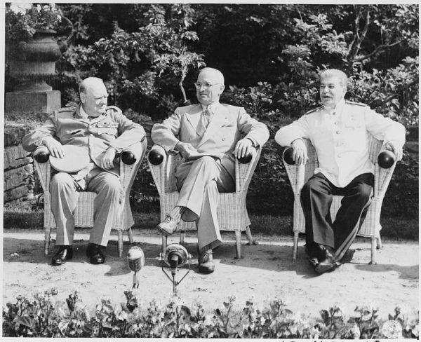 W trakcie konferencji poczdamskiej przywódca USA chciał dodatkowo osłabić powojenną Polskę. Wszystko po to, by nie dopuścić do powiększenia sowieckiej strefy wpływów w Europie.
