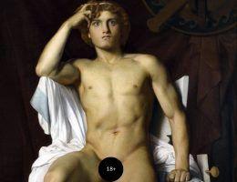Czy jeden z najsłynniejszych antycznych herosów miał nie tylko heteroseksualne, ale i nekrofilskie skłonności? Na ilustracji fragment obrazu François Léon Benouville'a przedstawiającego Achillesa (1847 rok).