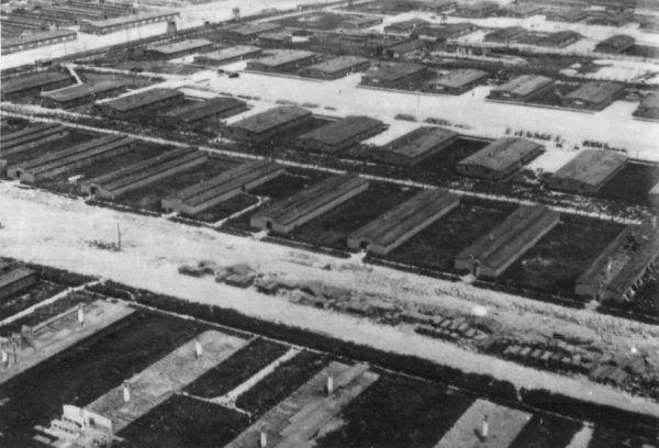 Obóz KL Lublin, zdjęcie z roku 1944 (fot. domena publiczna)