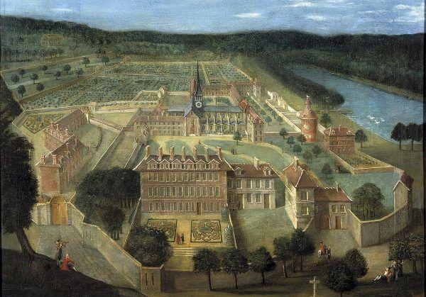 Opactwo Port-Royal-des-Champs, główna siedziba jansenistów.