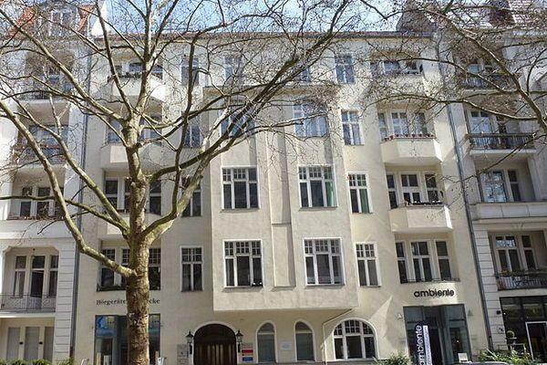 Kamienica przy Giesebrechtstrasse 11 w bielińskiej dzielnicy Charlottenburg. To w tym budynku mieścił się Salon Kitty.