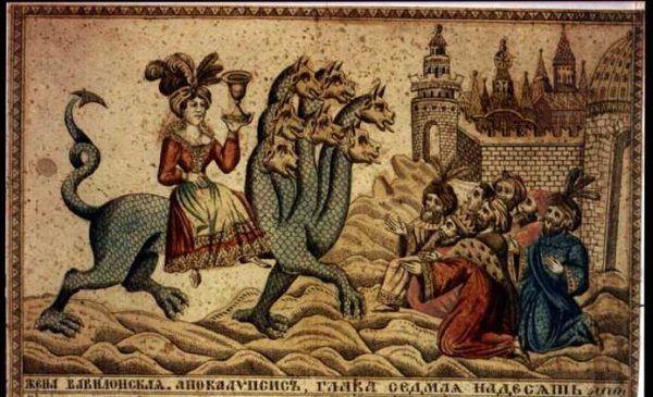 """Co prawda była to """"Wielka Babilon"""", a nie """"Wielki Babilon"""", jak twierdzi nasza Czytelniczka, ale bądź co bądź chodziło o nierządnicę - symboliczną postać z Księgi Objawienia. Uosobienie zepsucia i sprzedajności."""