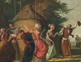 Przepych, zabawy i skandale. Chociaż tak kojarzy nam się polska magnateria, Radziwiłłowie byli rodem, który uczynił dla Polski również wiele dobrego. Na ilustracji fragment obrazu Kornelego Szlegela.