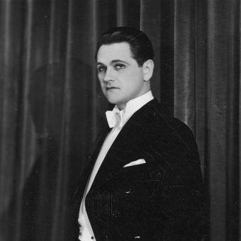 Jeden z największych przedwojennych amantów - Eugeniusz Bodo (fot. domena publiczna)