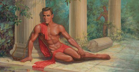 Juliusz Cezar Uwodziciel Playboy I Biseksualista 18