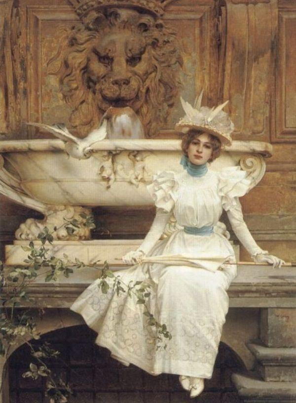 Obraz Vittorio Matteo Corcosa z ostatniej dekady XIX wieku (fot. domena publiczna).