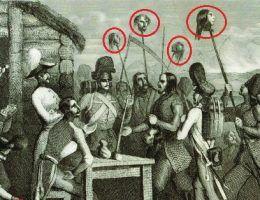 Pański ucisk, chłopska krzywda - tak widzi się przede wszystkim relacje między polską szlachta a chłopstwem. Jednak i uciskani potrafili pokazać, że są belitośni. Na ilustracji fragment XIX-wiecznego francuskiego stalorytu przedstawiającego rzeź galicyjską.