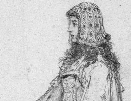 Adelajda Heska na szkicu Jana Matejki