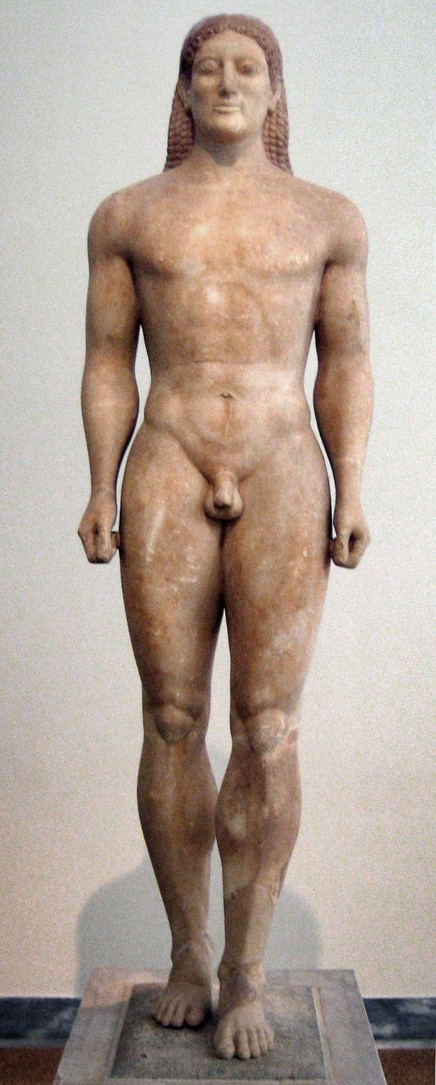 Tak starożytni wyobrażali sobie idealnego młodzieńca. Niestety wraz z pojawieniem się zarostu, tracił on na swojej atrakcyjności.