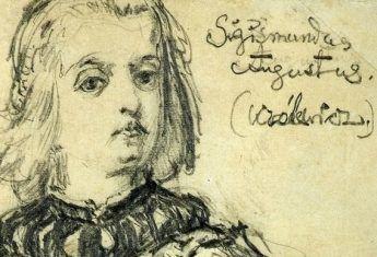 Królewicz Zygmunt August na niepublikowanym szkicu Jana Matejki