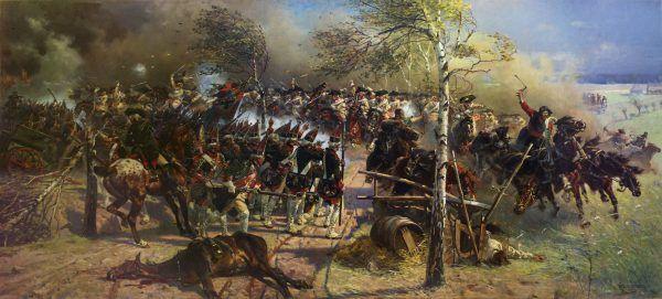Drakońskie metody szkolenia miały sprawić, że w czasie bitwy żołnierze będą walczyć do ostatniej kropli krwi. Na ilustracji obraz Wojciecha Kossaka przedstawiający bitwę pod Sarbinowem.