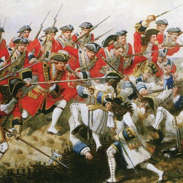 Życie XVIII-wiecznego rekruta było koszmarem. Na ilustracji bitwa pod Malplaquet.
