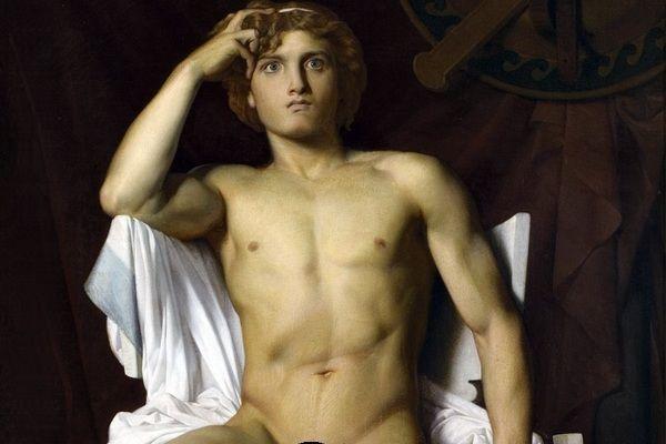 Czy jeden z najsłynniejszych antycznych herosów miał nie tylko heteroseksualne, ale i nekrofilskie skłonności? Na ilustracji fragment dziewiętnastowiecznego obrazu François-Léon Benouville'a przedstawiającego Achillesa.