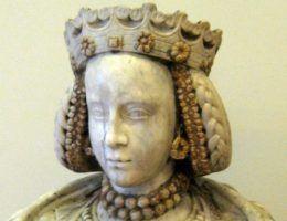 Barbara Zápolya. Popiersie nieznanego rzeźbiarza