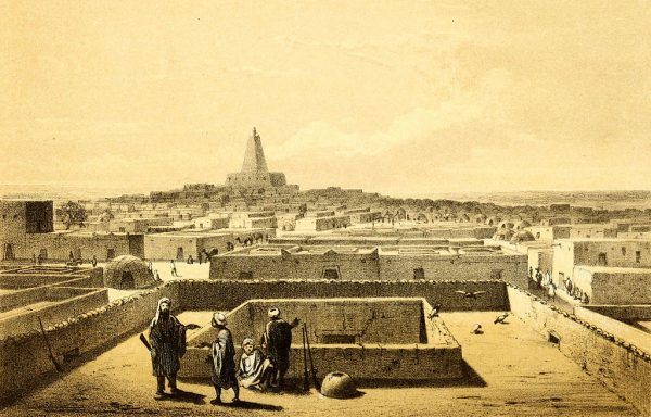Przez wieki Timbuktu stanowiło centrum intensywnej wymiany handlowej między Czarną Afryką a islamską Afryką Północną, a za jej pośrednictwem i z Europą. Ze względu na bogactwa i względną niedostępność upowszechnił się mityczny obraz miasta.
